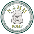 NAMM logo | National Association of Memorial Masons | Register of Qualified Memorial Fixers